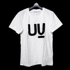 新品同様 廃盤 uu uniqlo undercover アンダーカバー ユニクロ 「S」 UU T-shirt  限定 UU ロゴ Tシャツ 062545