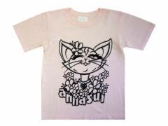 ANNA SUI「XS」Prince cet T-shirt (アナスイ プリンセス キャット Tシャツ) 062768