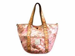 GARCIA MARQUEZ monogram pattern frill tote bag (ガルシアマルケス モノグラム パターン フリル トート バッグ) 064066