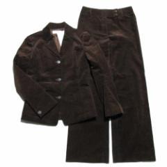 新品同様 GERGES RECH PARIS ジョルジュレッシュ「38」コーデュロイ セットアップスーツ (パンツ) 064535