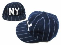 【新品】COOPERSTOWN BALL CAP CO. 1963 クーパーズタウンボールキャップ 1963年 ニューヨークブラックヤンキース 帽子 064669