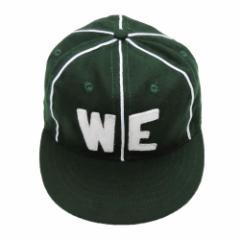 【新品】COOPERSTOWN BALL CAP Co. クーパーズタウン ボールキャップ 1930 緑 デンバーホワイトエレファンツ (帽子) 064674