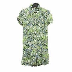 Debbie by FREES SHOP「M」Culottes dress デビー バイ フリーズ ショップ 花柄 キュロット ワンピース 064844