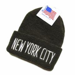【新品】IDEALCAP COMPANY アイデアル カンパニー アメリカ製 ニューヨーク オリーブ ニットキャップ (クーパーズタウン 帽子) 064887