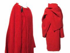 Jean Paul GAULTIER FEMME ジャンポールゴルチエ フェム「40」ショール マント付 コート (ゴルチェ ジャケット) 065382