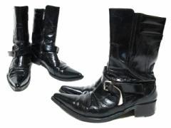 HIROMU TAKAHARA「42」ヒロムタカハラ サイドシップ レザー ウエスタン ブーツ (ROEN ロエン シューズ 靴) 065720
