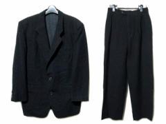 80s vintage TOKIO KUMAGAI homme「M」80年代 ヴィンテージ トキオクマガイ オム セットアップ スーツ 066116【中古】