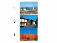 vintage EXPO70「日本万国博会場風景」「ニュージーランド館」「ワシントン州館(アメリカ)」大阪万博 ポストカード エキスポ 066506