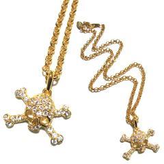 【新品】廃盤 Vivienne Westwood Gold skeleton necklace ヴィヴィアンウエストウッド ゴールドドクロ ネックレス 067043