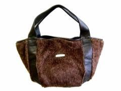 廃盤 Ys ACCS Yohji Yamamoto Fur tote bag イザック ヨウジヤマモト ファー トート バッグ (Ys for men ワイズフォーメン POU 067247