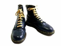 vintage Dr.Martens ヴィンテージ ドクターマーチン Engiand「UK6」生産終了 英国製 8ホール レザー ブーツ (靴シューズ) 067580