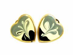 80s vintage Classic marble earrings 80年代 ヴィンテージ クラシック マーブル イヤリング (ピアス) 067773