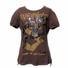 Vivienne Westwood ヴィヴィアンウエストウッド「L」イタリア製 アンティーク オーブ Tシャツ (半袖 ビビアン) 068665