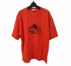 STUDIO 0001 FERRE ITALY ジャンフランコ フェレ「L」イタリア製 刺繍Tシャツ (GIAN FRANCO FERRE) 069072