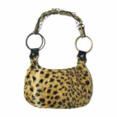 廃盤 Vivienne Westwood ヴィヴィアンウエストウッド レオパード柄 メタル チェーンバッグ (鞄かばん ビビアン) 069754
