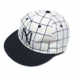 【新品】COOPERSTOWN BALL CAP CO. ボールキャップ 1935年 ニューヨークブラックヤンキース (NYBYC35 2.5H) 070050