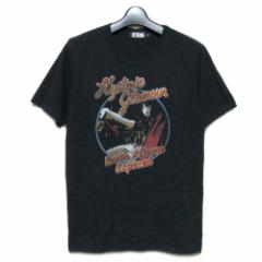 HYSTERIC GLAMOUR ヒステリックグラマー「S」Youth Aflame Exposed ロックTシャツ (半袖カットソー) 070487