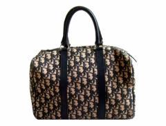 vintage Christian Dior ヴィンテージ クリスチャンディオール フランス製 トロッター モノグラムボストンバッグ (鞄 ビンテージ) 070756