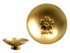 vintage EXPO70 24k plating gold cup ヴィンテージ 大阪万博 24k メッキ 金杯 (エキスポ ビンテージ)■【中古】