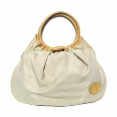 Vivienne Westwood Canvas X leather bag ヴィヴィアンウエストウッド キャンバス×レザー バッグ (ビビアン マン MAN) 071092