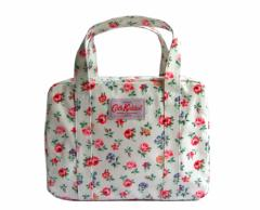 【新品】Cath Kidston キャスキッドソン フラワーパターン ボストンバッグ (キャスキットソン 花柄 鞄カバン) 071317