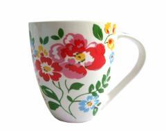 【新品】Cath Kidston キャスキッドソン フラワーパターン マグカップ (キャスキットソン 花柄 コップ) 071337