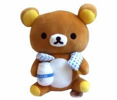 【新品】廃盤 RILAKKUMA リラックマ 温泉 ぬいぐるみ 大型 071830