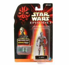新品同様 1998 vintage STAR WARS C-3PO ヴィンテージ 旧トミー社 1998年 スターウォーズ C-3PO フィギュア (デッドストック) 072499