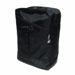 【新品】MELO USA メロ アメリカ製 ミディアム バックパック (DZ27 RAVEN リュックサック バッグ 黒) 074577