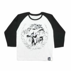 【新品】NOISE ノイズ 花売り 七分袖ラグランカットソー (ロンTシャツ) 074836