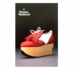 新品同様 廃盤 Vivienne Westwood ヴィヴィアンウエストウッド シューズエキシビジョン限定 ポストカード (Time Mashine 88AW) 075419