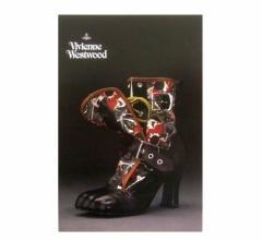 新品同様 廃盤 Vivienne Westwood ヴィヴィアンウエストウッド シューズエキシビジョン限定 ポストカード (Nymphs02SS 回顧展) 075444