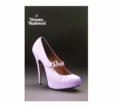 新品同様 廃盤 Vivienne Westwood ヴィヴィアンウエストウッド シューズエキシビジョン限定 ポストカード (On Liberty 94AW) 075449