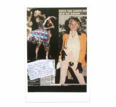 新品同様 廃盤 Vivienne Westwood ヴィヴィアンウエストウッド ミラノ 展示会限定 ポストカード 075471