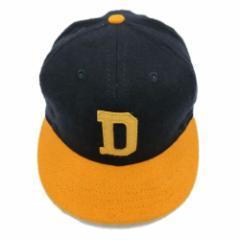 【新品】COOPERSTOWN BALL CAP CO. クーパーズタウン ボールキャップ 紺×ゴールド デイトンマルコス (DAYC26 2inch Visor) 076017