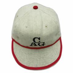【新品】COOPERSTOWN BALL CAP CO. クーパーズタウン ボールキャップ シカゴアメリカンジャイアンツ (CAGC38 2.5inch Visor) 076026