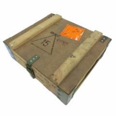 vintage POLAND Military ヴィンテージ ポーランド軍 アンモボックス ウッドメタルフレーム (ミリタリー ARMY アーミー 軍装備) 077176