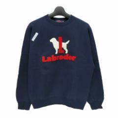 Labrador Retriever ラブラドールリトリーバー Labradorロゴ スウェット (本家ニューイングランド オリジナル スエット) 077179