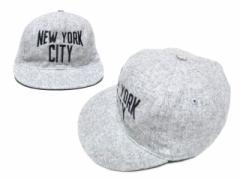 【新品】COOPERSTOWN BALL CAP CO. クーパーズタウン ボールキャップ グレーニューヨークシティ 077347