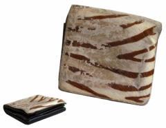 難有 [SALE] Dry Bones ドライボーン ハラコレザーウォレット (折財布) 077792