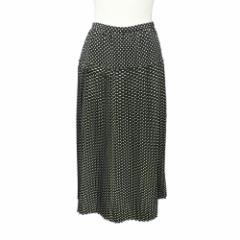 80s Vintage INGEBORG 80年代 ヴィンテージ インゲボルグ ドットパターンロングスカート (マキシ丈 水玉柄) 078058