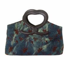 SAVOY サボイ デニム刺繍トートバッグ 079001