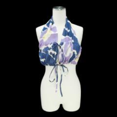 美品 Vivienne Westwood ITALY ヴィヴィアンウエストウッド「42」ホルターネック ドレスカットソー 079695