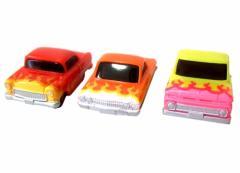 Pull back car プルバックカー 1965 ステップサイド 1963 インパラ 1955 ベルエアー ミニカー (チョロQ) 079848