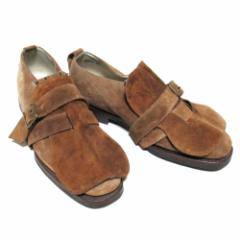 PATRICK COX パトリックコックス「40」イタリア製 ベルテッド レザーシューズ (ブーツ 革皮靴) 079929