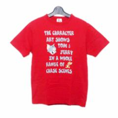 TOM&JERRY トムとジェリー「S」半袖 プリントTシャツ 081711