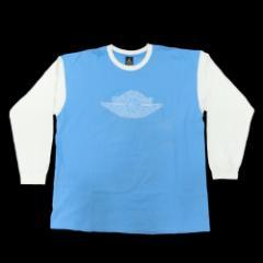 NIKE AIR JORDAN 1 ナイキ エアジョーダン 1「XXL」ノースカロライナ大学カラー ロンTシャツ (ウィングマーク) 082399