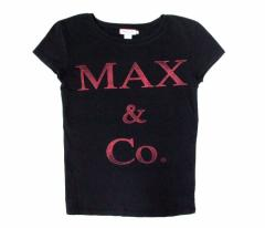 Max&Co tricot マックスアンドコー トリコ「M」ストレッチロゴTシャツ (MAX MARA マックスマーラ) 082578