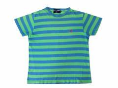 RALPH LAUREN POLO SPORT ラルフローレン ポロスポーツ「L」ボーダーワンポイントTシャツ (半袖カットソー) 083638