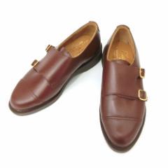 デッドストック vintage Dr.Martens ヴィンテージ ドクターマーチン Wモンクストラップレザーブーツ (靴シューズ) 084666